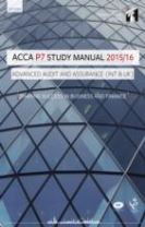 ACCA P7 Advanced Audit and Assurance (International) Study Manual Text