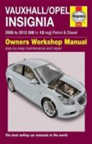 Vauxhall/Opel Insignia Owners Workshop Manual