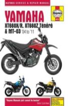 Yamaha Xt660 & Mt-03 Service And Repair Manual