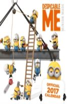 Despicable Me Official 2017 Slim Calendar