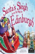 Santa's Sleigh is on its Way to Edinburgh