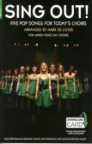 Sing Out] 5 Pop Songs For Today's Choirs - Book 1 (Book/Audio Download)