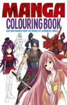 Manga Colouring Book