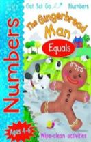 Get Set Go Numbers: The Gingerbread Man - Equals