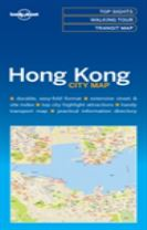 Lonely Planet Hong Kong City Map