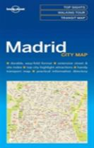 Lonely Planet Madrid City Map