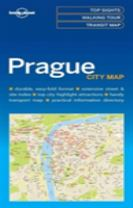 Lonely Planet Prague City Map