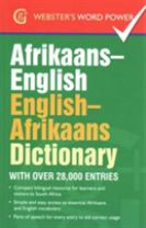 Afrikaans-English, English-Afrikaans Dictionary