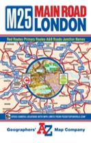 M25 Main Road Map of London