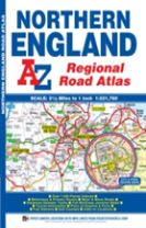 Northern England Regional Road Atlas