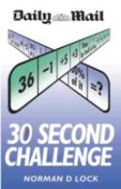 Daily Mail 30 Second Challenge (2 Volumes)