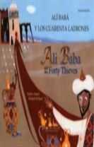 Ali Baba and the Forty Thieves in Spanish and English