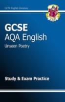 GCSE English AQA Unseen Poetry Study & Exam Practice Book (A*-G Course)