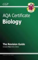 AQA Certificate Biology Revision Guide (with Online Edition) (A*-G Course)