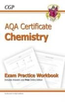 AQA Certificate Chemistry Exam Practice Workbook (with Answers & Online Edition) (A*-G Course)