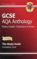 GCSE AQA Anthology Poetry Study Guide (Characters & Voices) Foundation (A*-G Course)