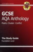 GCSE Anthology AQA Poetry Study Guide (Conflict) Foundation (A*-G Course)