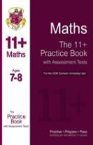 11+ Maths Practice Book with Assessment Tests (Age 7-8) for the CEM Test