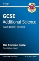 GCSE Additional Science Edexcel Revision Guide - Foundation (with Online Edition) (A*-G Course)