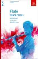 Flute Exam Pieces 20142017, Grade 2, Score & Part
