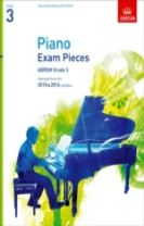 Piano Exam Pieces 2015 & 2016, Grade 3