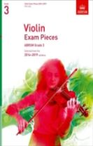 Violin Exam Pieces 2016-2019, ABRSM Grade 3, Part