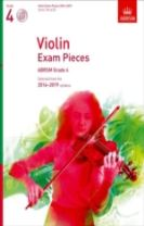 Violin Exam Pieces 2016-2019, ABRSM Grade 4, Score, Part & CD