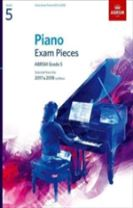 Piano Exam Pieces 2017 & 2018, ABRSM Grade 5