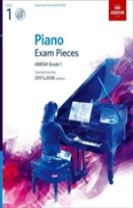 Piano Exam Pieces 2017 & 2018, ABRSM Grade 1, with CD