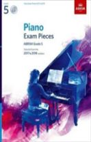 Piano Exam Pieces 2017 & 2018, ABRSM Grade 5, with CD