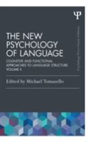 The New Psychology of Language
