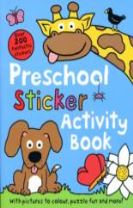 Preschool Sticker Activity Book
