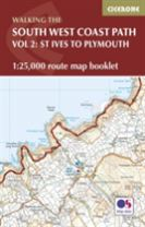 South West Coast Path Map Booklet - Vol 2: St Ives to Plymouth
