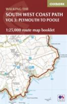 South West Coast Path Map Booklet - Vol 3: Plymouth to Poole