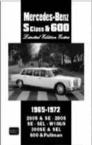 Mercedes-Benz S Class and 600 Limited Edition Extra 1965-1972