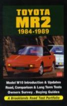 Toyota MR2 1984-1989 a Brooklands Road Test Portfolio