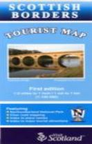 Borders Tourist Map