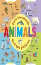 Animals: Turn the Wheels - Find the Pictures