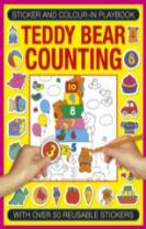 Sticker and Colour-in Playbook: Teddy Bear Counting