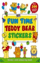 Fun Time Teddy Bear Stickers