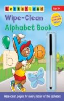 Wipe-Clean Alphabet Book