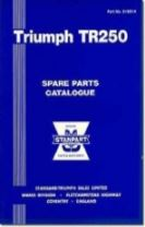 Triumph Parts Catalogue: TR250 US
