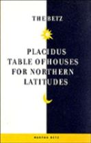 The Betz Table of Houses for Northern Latitudes