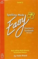 Spelling Made Easy Revised A4 Text Book Level 2