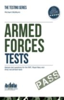 Armed Forces Tests (practice Tests for the Army, RAF and Royal Navy)