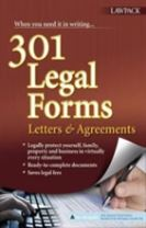 301 Legal Forms, Letters & Agreements