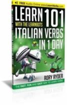 Learn 101 Italian Verbs in 1 Day with the Learnbots