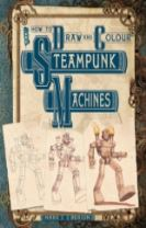 How To Draw And Colour Steampunk Machines