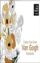 Colour Your Own Van Gogh Postcard Book