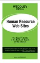 WEDDLE's WIZNotes: Human Resource Web Sites
